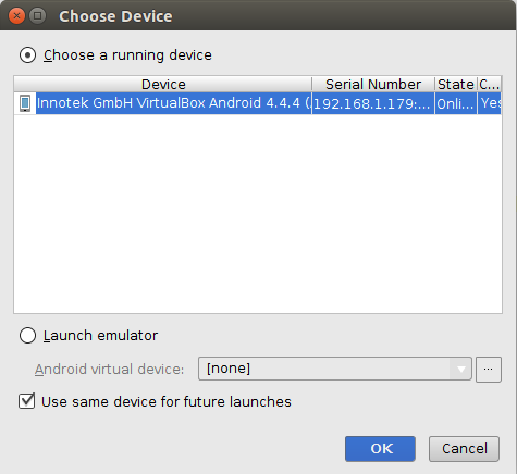 android-studio-choose-device-virtualbox